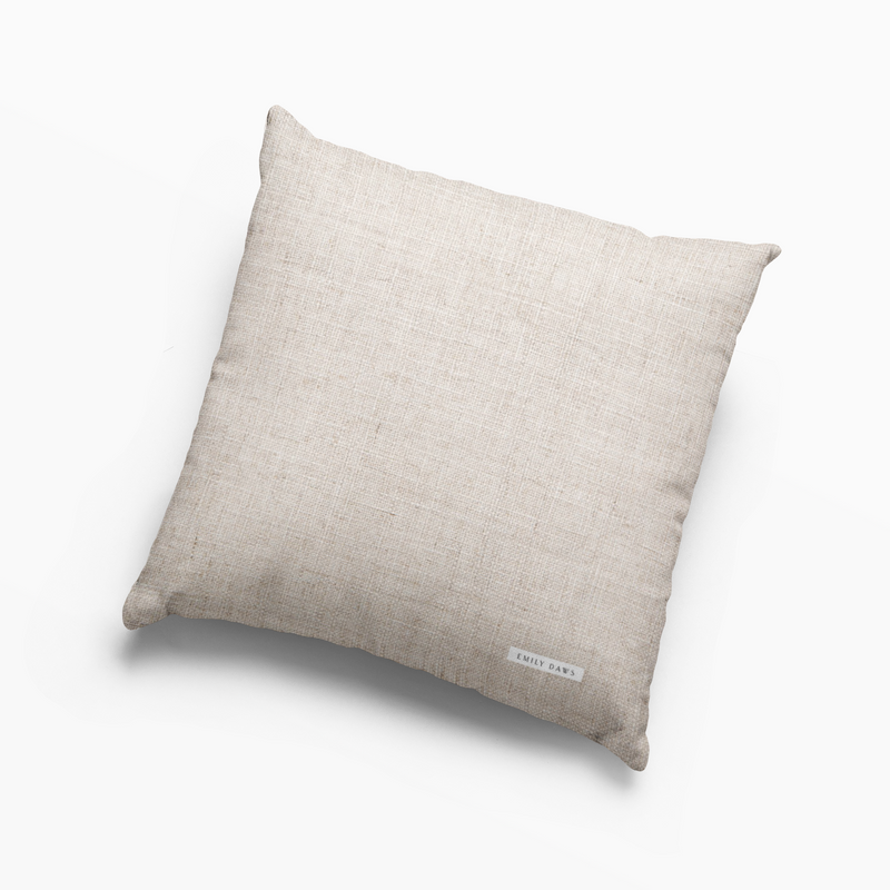 Edisto Pillow in Jet