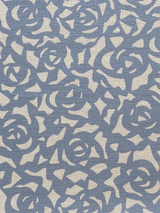 Gardenia Fabric in Cobalt