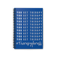 Load image into Gallery viewer, You Get Therapy Notebook
