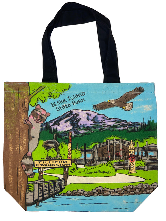 Seattle & Blake Island Canvas Tote