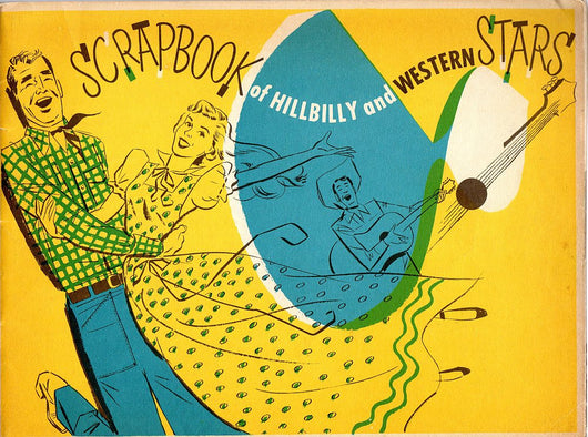 Hillbilly Western Music Stars Scrapbook 1952 - Old Orchard Antiques And Collectibles