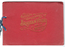 Pictures and Biographies of Brigham Young And His Wives 1896 - Old Orchard Antiques And Collectibles