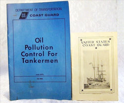 Two Vintage U.S. Coast Guard Pamphlets - Old Orchard Antiques And Collectibles