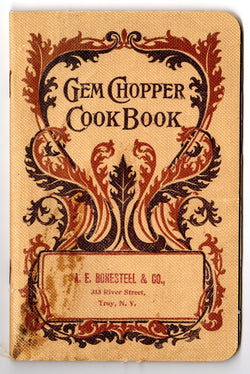 Vintage Gem Chopper Cookbook 1902 - Old Orchard Antiques And Collectibles