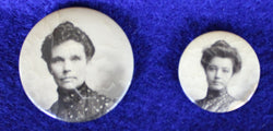 Victorian Photograph Pins Pinbacks Brooches - Old Orchard Antiques And Collectibles