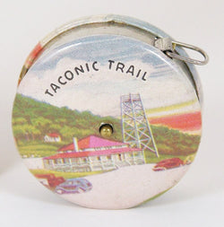 Taconic Trail Souvenir Tape Measure 1930's-40's - Old Orchard Antiques And Collectibles