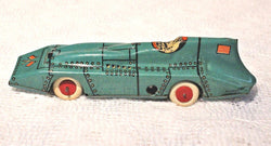 Vintage Lindstrom Tin Windup Land Speed Racer 1930's - Old Orchard Antiques And Collectibles