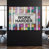 Work Harder - Pastel Edition