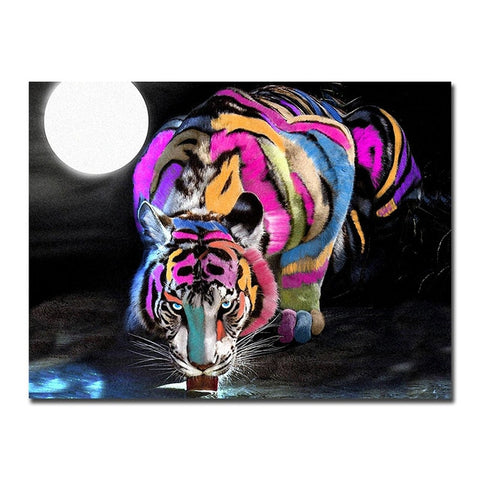 Moonlight Tiger - Graffiti Edition