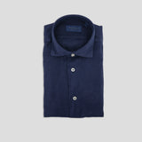 Pure Linen Shirt / Blue