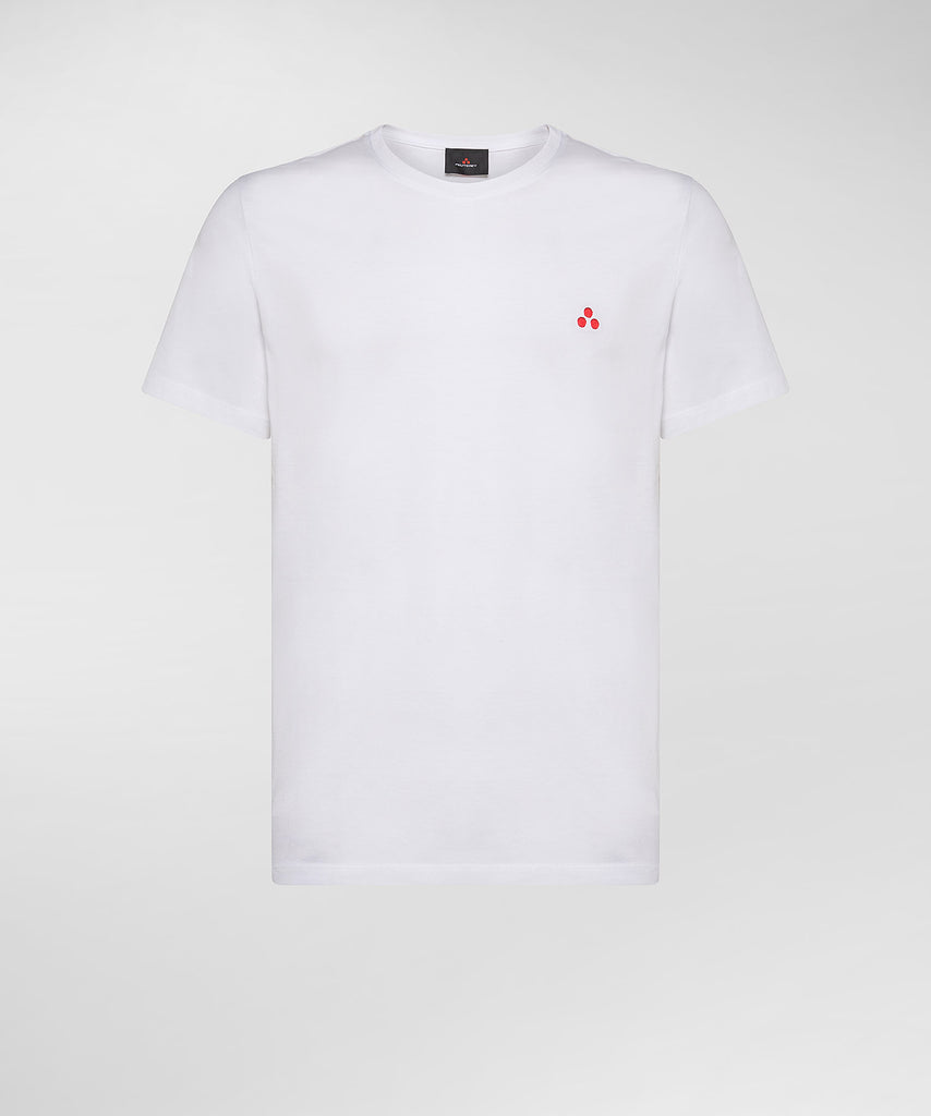 T-Shirt with Print / White