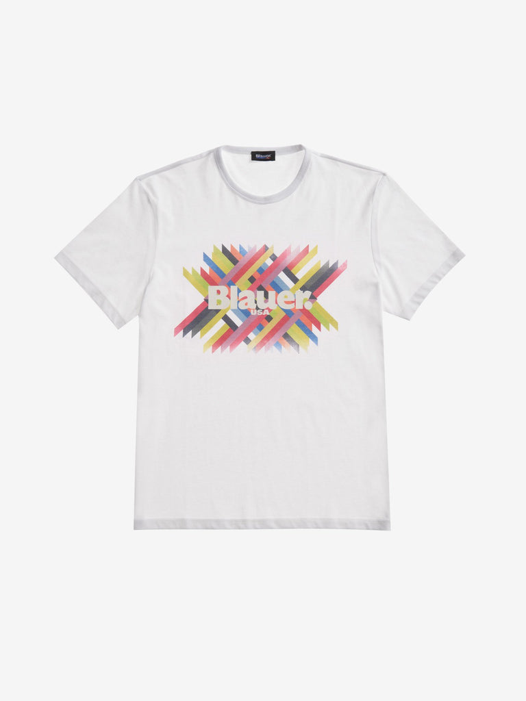 Multicolor T-Shirt / White