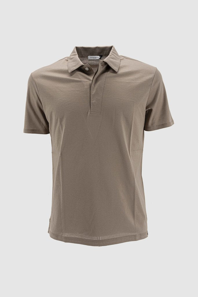 Half Sleeves Polo T-Shirt / Beige