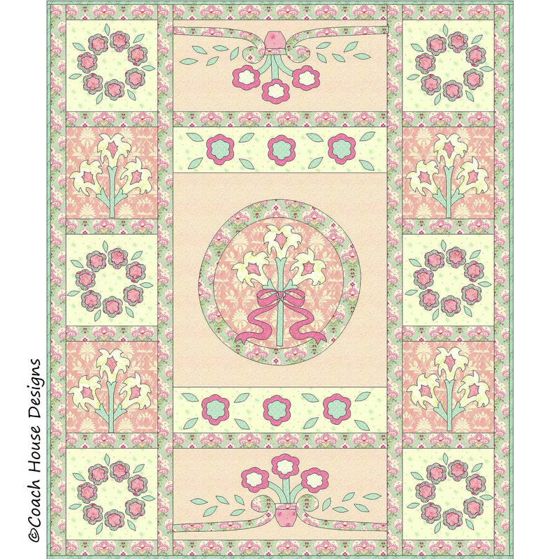 Antoinette Digital Pattern