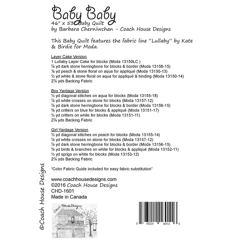Baby Baby Digital Pattern