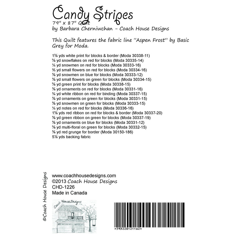 Candy Stripes Digital Pattern