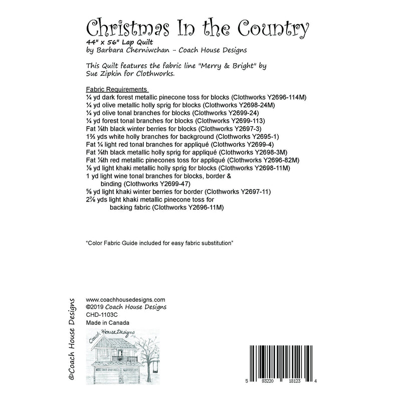 Christmas in the Country (Clothworks)