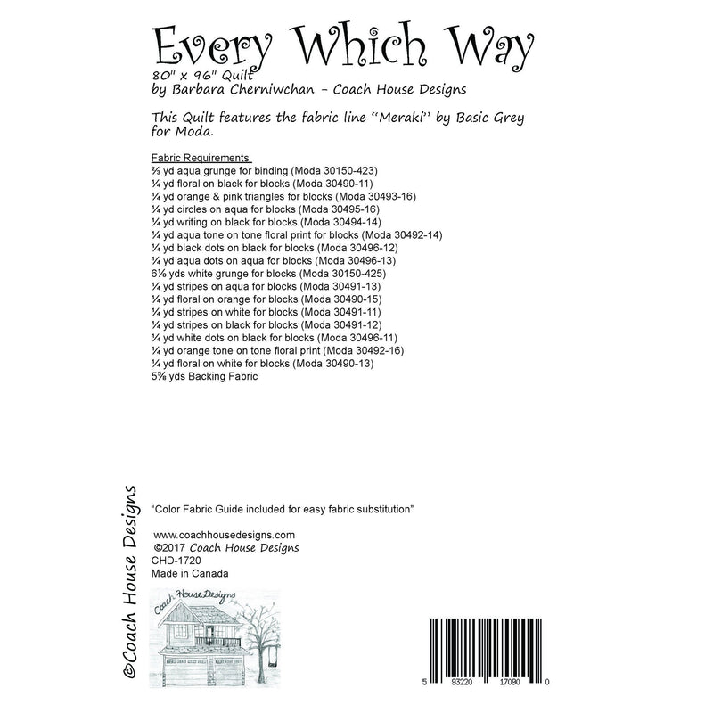 Every Which Way Digital Pattern