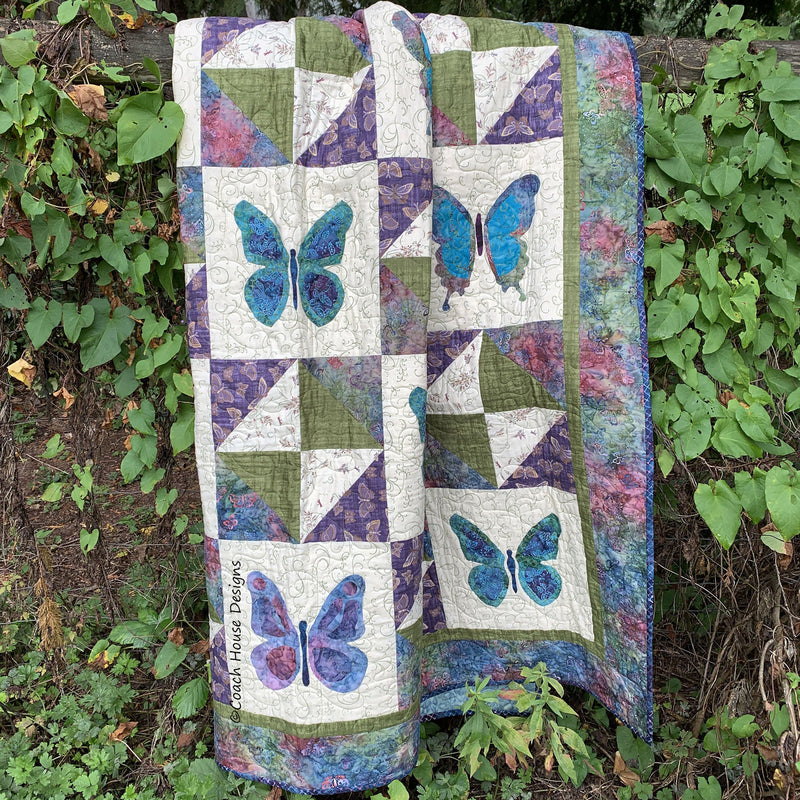 Flutterby Digital Pattern