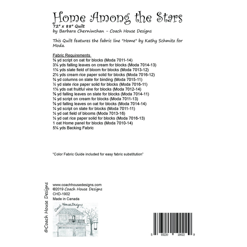 Home Among the Stars Digital Pattern