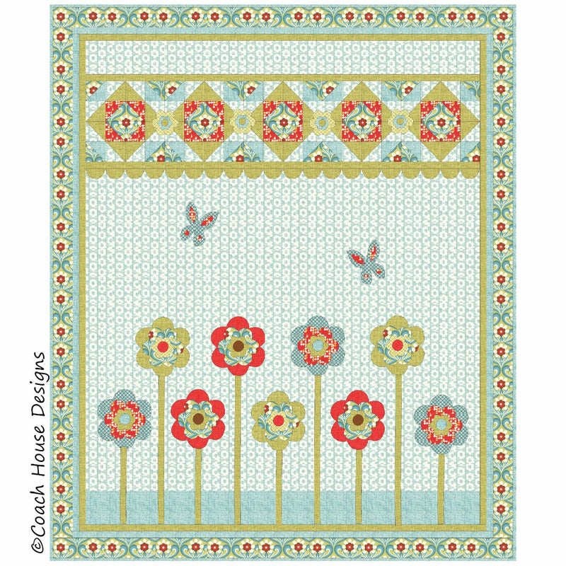 Maids in a Row Digital Pattern