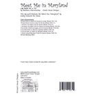 Meet Me in Maryland Digital Pattern