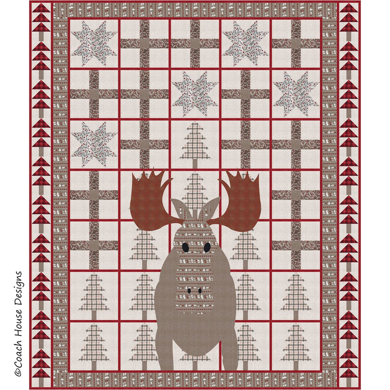 Moose! Digital Pattern
