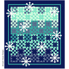Night Snow Digital Pattern