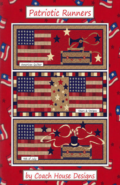 Patriotic Runners Digital Pattern