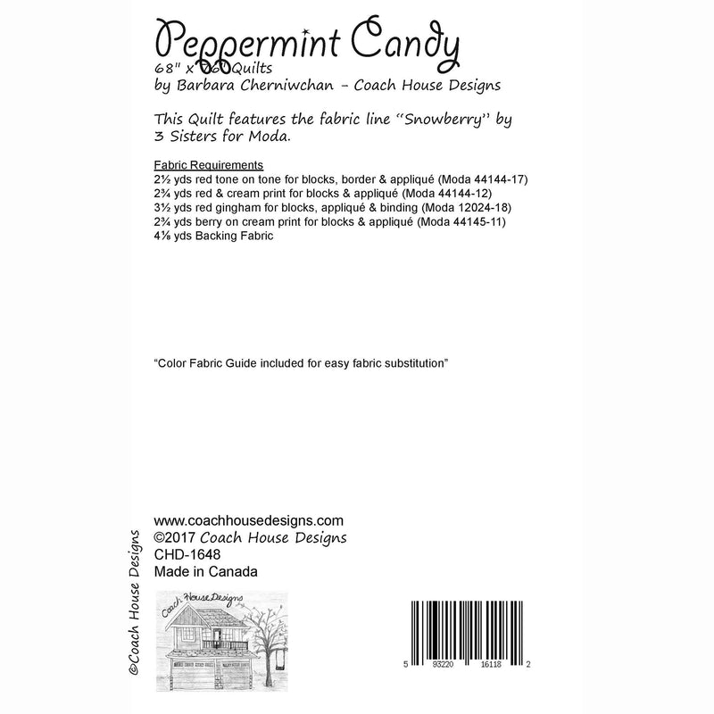 Peppermint Candy Digital Pattern