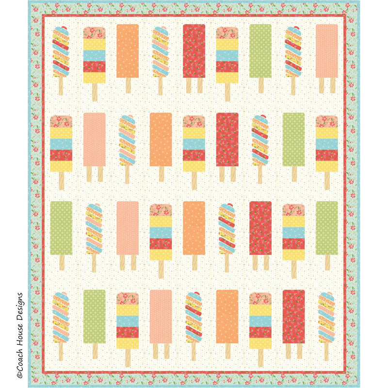 Popsicles Digital Pattern