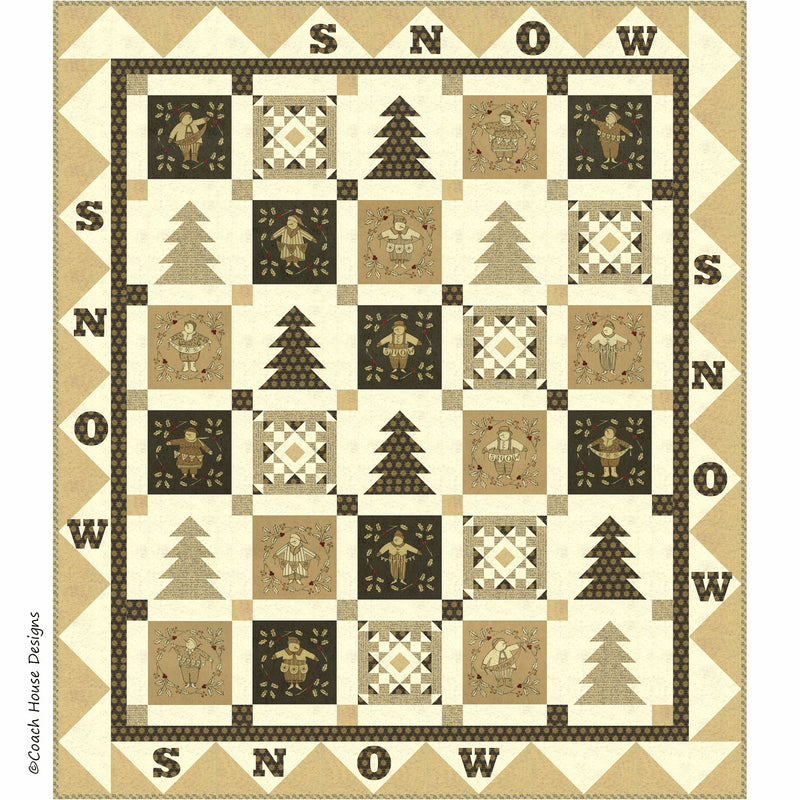 Snow! Digital Pattern