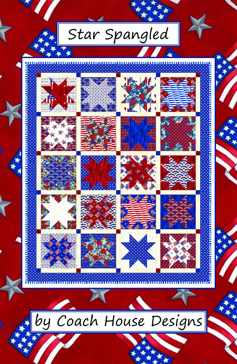 Star Spangled Digital Pattern