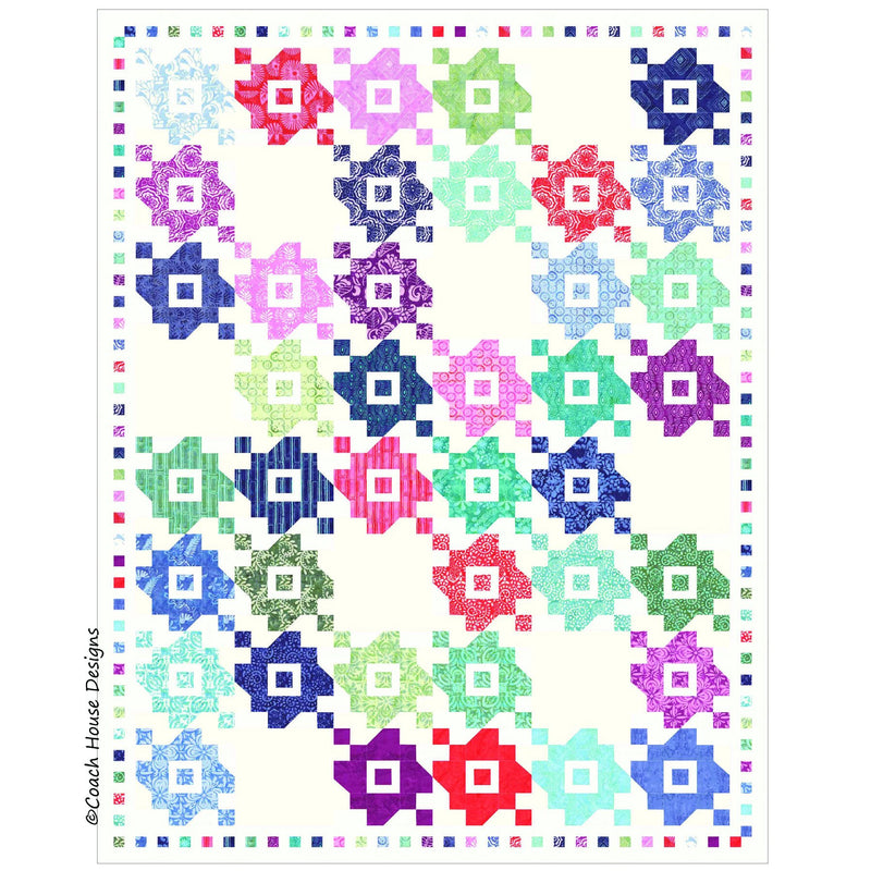 Summer Bouquet Digital Pattern