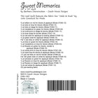 Sweet Memories Digital Pattern