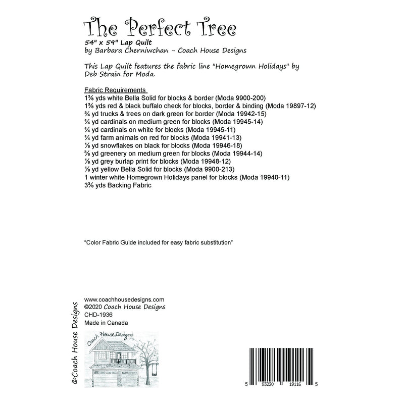 The Perfect Tree Digital Pattern