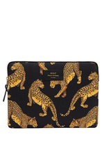 Load image into Gallery viewer, Black Leopard iPad Sleeve