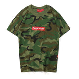 Supreme Camouflage Short T-shirt