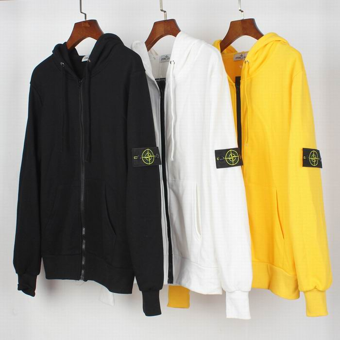 Stone Island Armband Zip-Up Hoodies