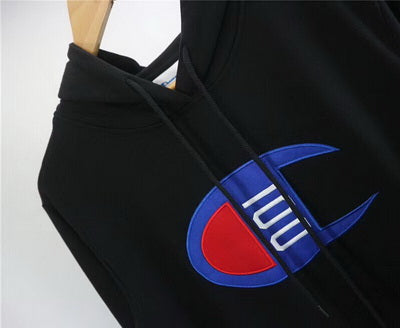 CHAMPION Confortable B&W Hoodies