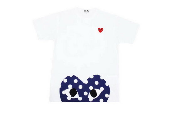 PLAY Oversized Polka Tee White