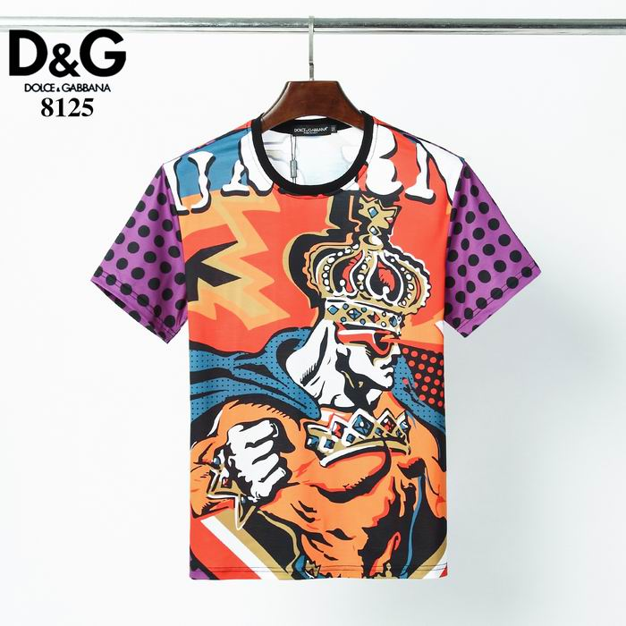 D&G T Shirt The Crown King Print