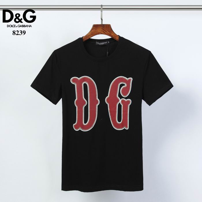 D&G T Shirt Big Logo Print