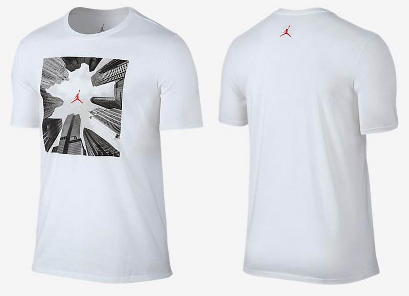Jordan Building Print T-Shirt White