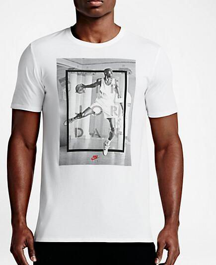 Jordan Nike Air T-Shirt White