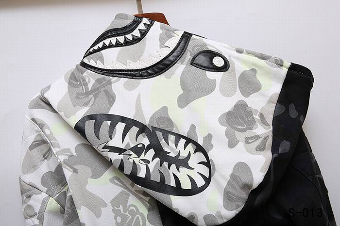BAPE Two-color Camo NBHD Hoodie