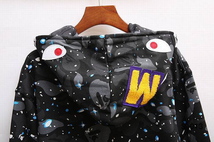 BAPE Starry Starry Night Hoodie Black