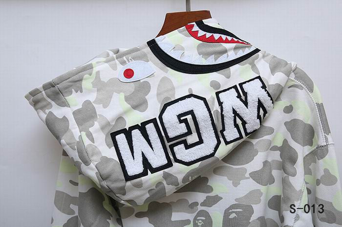 BAPE Camo Shark Head Hoodies