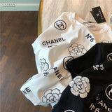 CHANEL FLORAL T-SHIRT