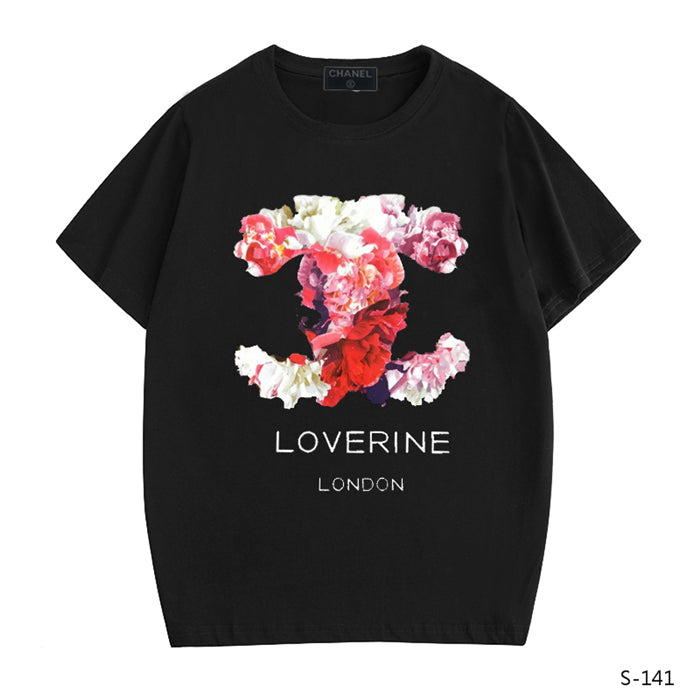 CHANEL Fresh Floral logo t-shirt